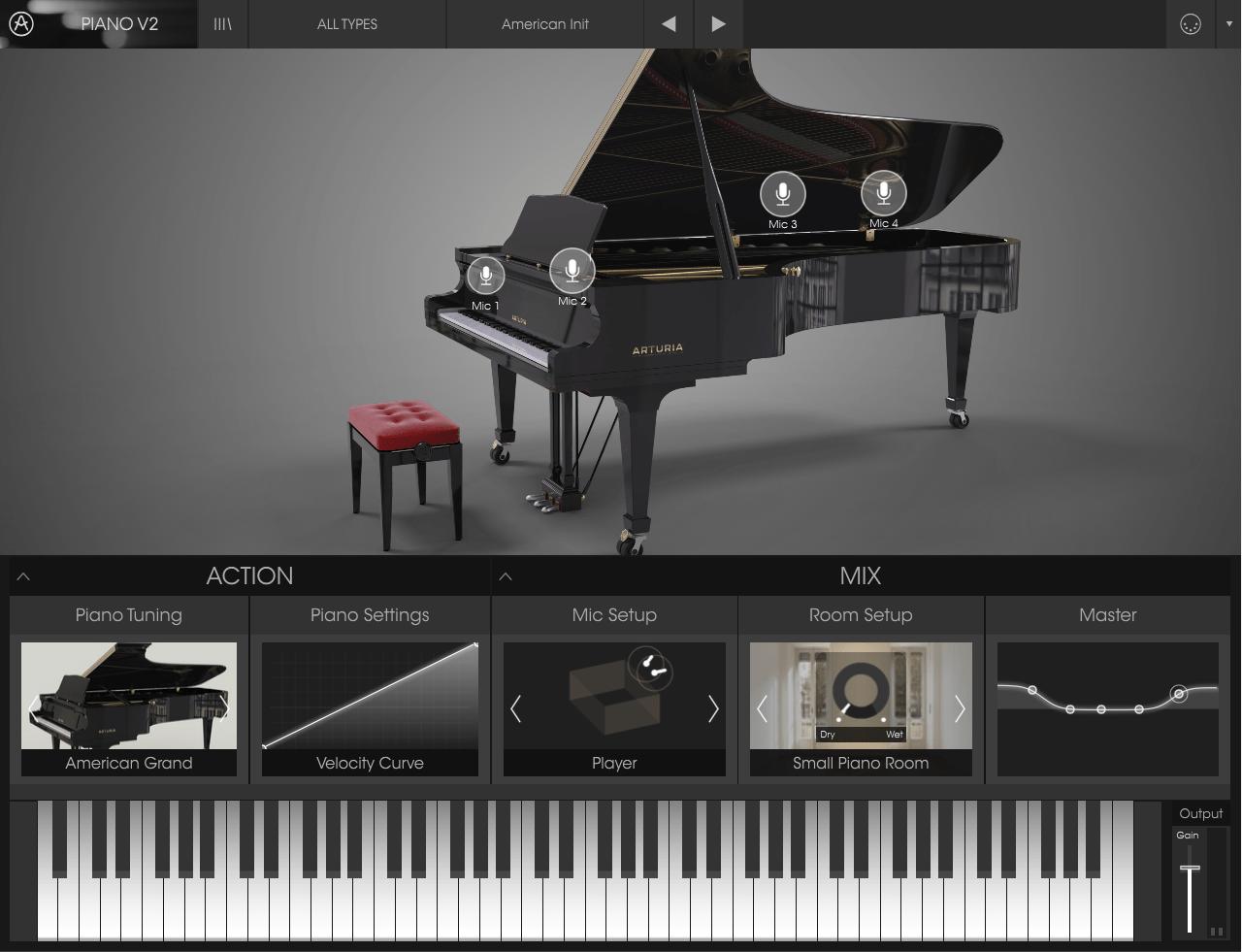 Arturia Piano V Review main plugin image