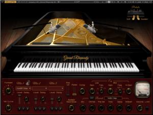 Waves Grand Rhapsody Piano Review main plugin image