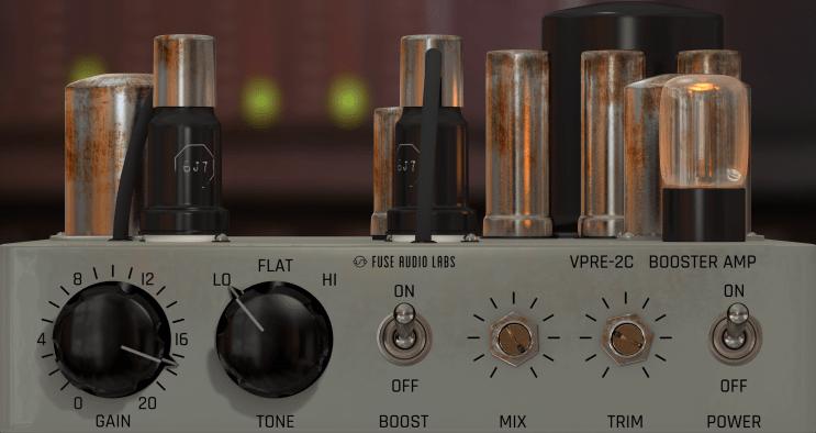 Fuse Audio Labs VPRE-2C Review main plugin image
