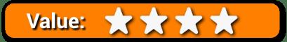 Value 4 Stars