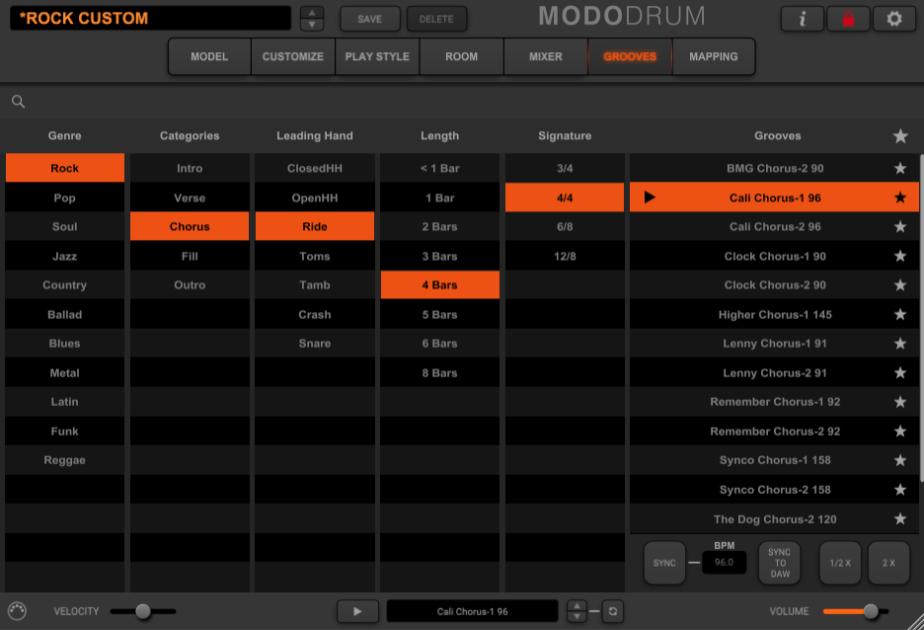IK Multimedia MODO Drum Review - grooves