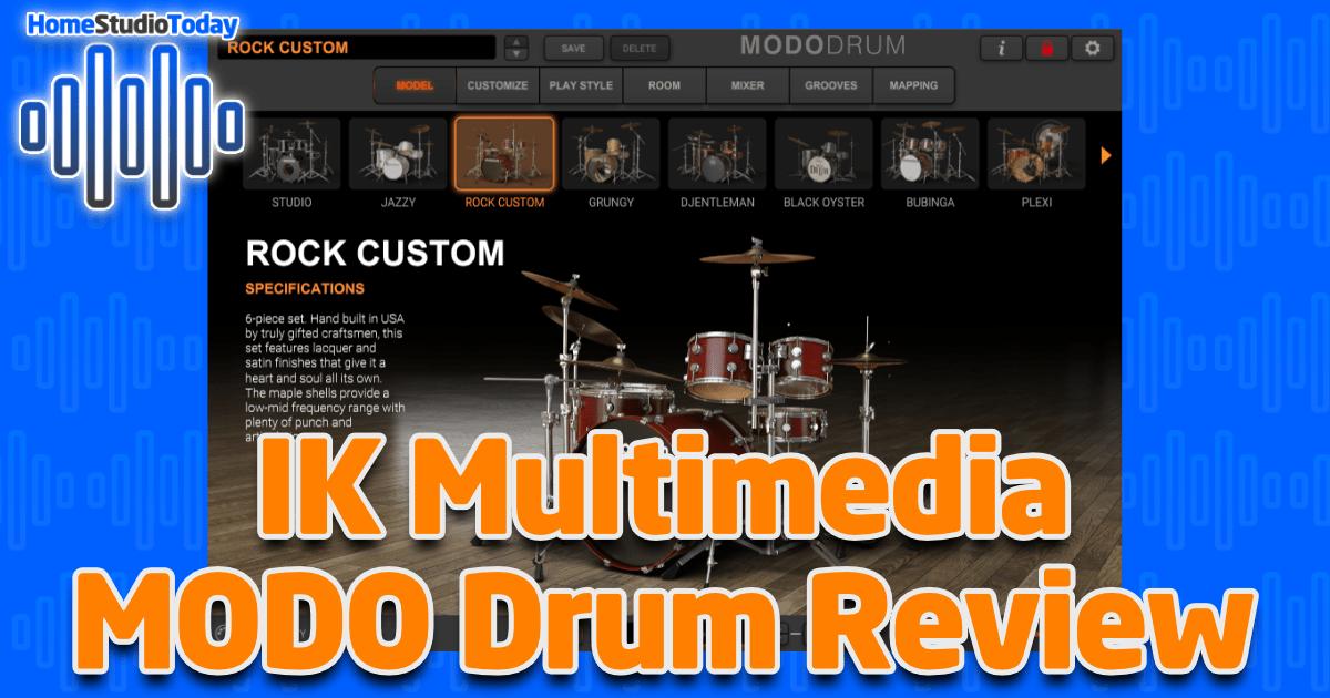 IK Multimedia MODO DRUM Review