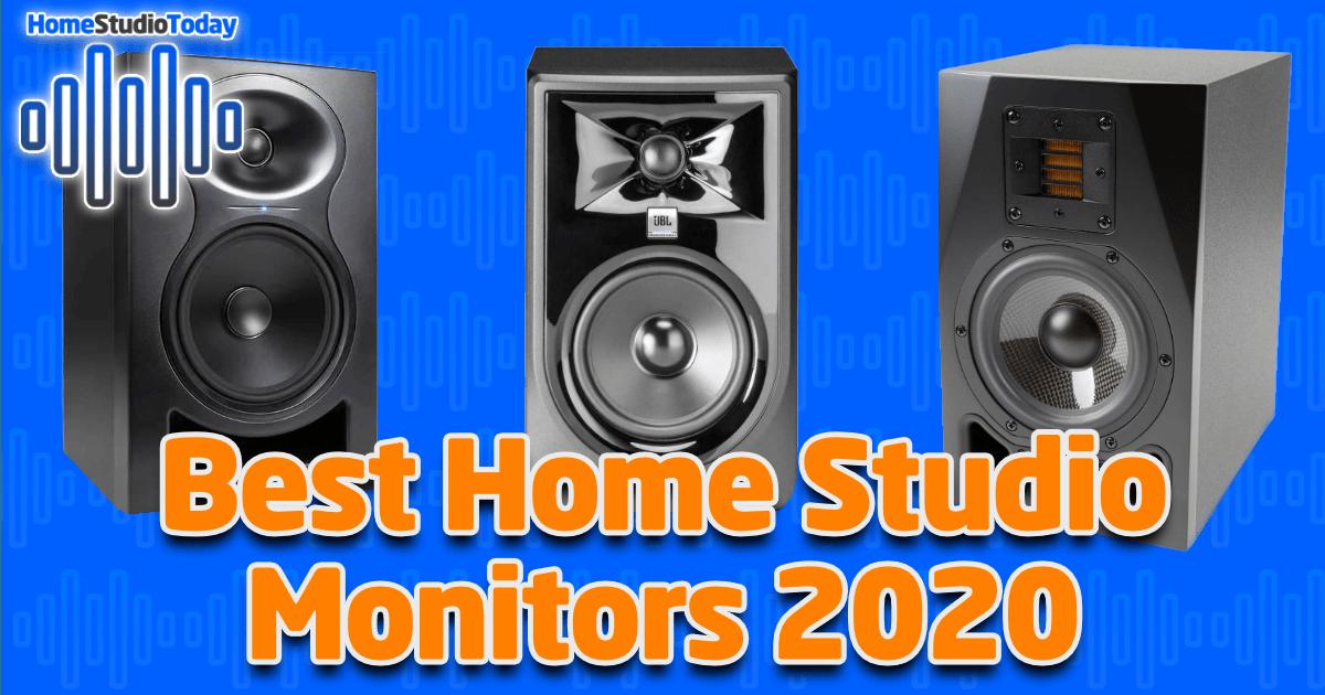 Best Home Studio Monitors 2020 featured image