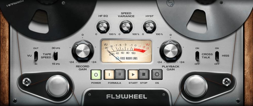 Fuse Audio Labs Flywheel Review main plugin image