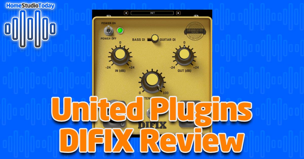 United Plugins DIFIX Review
