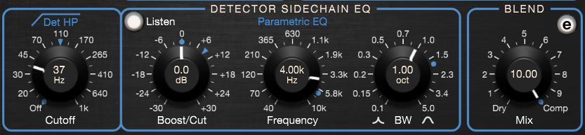 Empirical Labs Arousor Review detector EQ blend