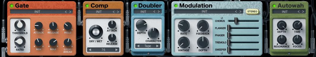United Plugins Electrum Review gate comp doubler modulation autowah